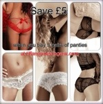 Tiffany Jades Lingerie - Precious Panties