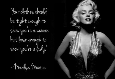 Marilyn Munroe Quote